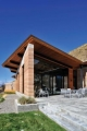 Wyoming Rammed Earth Terrace