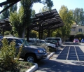 Patagonia PV Parking Area Shaded (Ventura, California, USA)