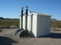 ELoo Solar Toilet Big Bend