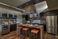 Sage Kitchen Clerestory