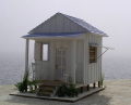 Tiny Beach House Scale Model