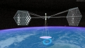 Space-Based solar power Transmitted to Earth