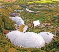 Eden Project Aerial Photo