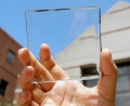 Transparent Solar Concentrator