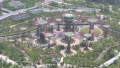 Solar Supertrees in Singapore Aerial View