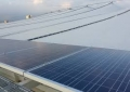 Maracana Stadium Solar in Rio Closeup