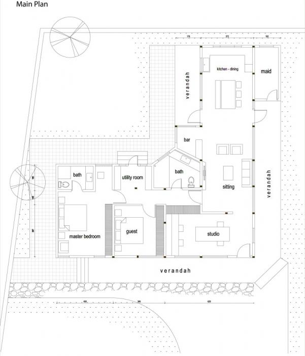Shillong House Floor Plan