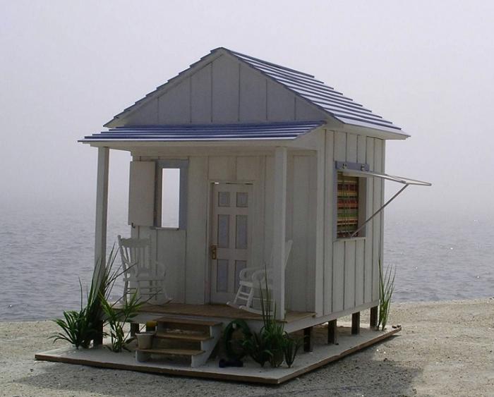 Tiny Beach House Scale Model