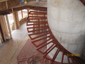 Chenequa Cantilever Stair
